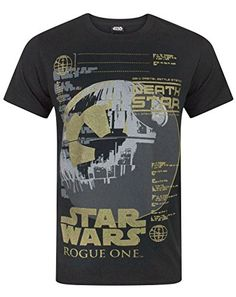 Star Wars Rogue One Metallic Death Star Mens TShirt XL -- See this great product.