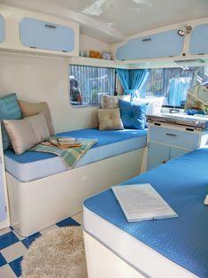 Restyled Vintage: Vintage Caravan Style