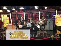 5 Seconds of Summer Singing Amnesia GMA Good Morning America (5SOS)