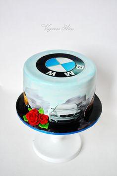 БМВ торт ко дню рождения