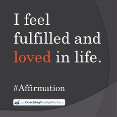 Affirmations from CoachingReallyWorks.com