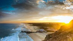 Sunset at Redhead Beach, Newcastle NSW Australia