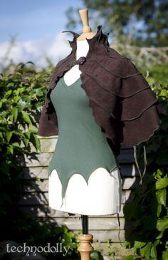 Alternative Clothing - Camilina Capelet Gothic Goth Faery Faerie Fairy Fae Pixie Alienskin Technodolly - Alienskin Clothing: Hand made