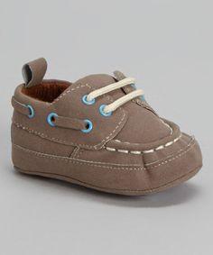 Look at this #zulilyfind! Brown & Tan Boat Shoe by Joseph Allen #zulilyfinds