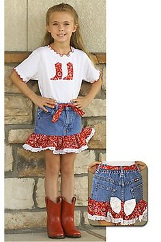 Kiddie Korral 2 Piece Bandanna Outfit