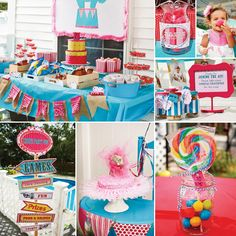 Bright & Fabulous Girly Circus Birthday Party!