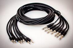 Cables de la mas alta calidad. Fabricamos todo tipo de cables de audio profesional. contacto: info@resistor.com.ar