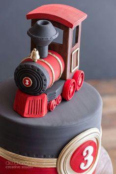 60 Trendy Ideas For Birthday Cake Easy Boy Fondant Easy Birthday Desserts, 3rd Birthday Cakes, Baby Boy Cakes, Cakes For Boys, Fondant Cakes, Cupcake Cakes, Gateau Baby Shower, Novelty Cakes, Gorgeous Cakes