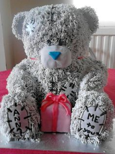Tatty teddy / Me To You cake - by Tatyv @ CakesDecor.com - cake decorating website