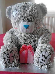 Tatty teddy / Me To You cake - by Tatyv @ CakesDecor.com - cake decorating website