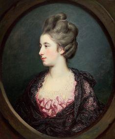 Francis Cotes, Mrs. Thomas Horne, ca. 1768/1770, National Gallery of Art, Washington, D.C.