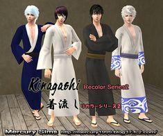 着流しリカラーシリーズ2 Kinagashi Recolor Series2 - Mercury Sims