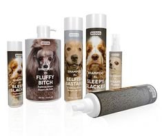 Bedog by Beatrice Menis & Gloria Kelly: I love all the titles for the products. These would definitely catch the eye of your casual dog owner shopping at Petco.