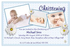 baptism invitation : invitation card for christening - Superb Invitation - Superb Invitation Baby Boy Invitations, Christening Invitations, Picture Invitations, Wedding Invitations, Invitation Card Maker, Invitation Card Design, Business Invitation, Invitation Wording, Invitation Templates