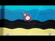 DIY: the felt fish / МК: рыбка из фетра. Рыбка со скрепкой для магнитной удочки.