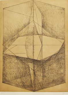 Joel Werring, Untitled, etching and aquatint, 2004. Published by Wingate Studio