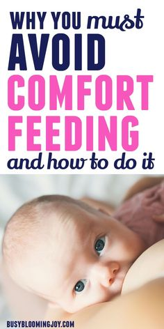 If baby is fussy or gassy, comfort feeding or cluster feeding can make it worse. So if baby is rooting to suck or cluster feeding it could mean baby is overtired or has gas pains and is seeking comfort – baby might not be hungry at all! Rooting to suck is first and foremost a baby hunger cue, but babies also suck for comfort. You need to decode your baby's cues first, to avoid comfort feeding or cluster feeding all night long. A great fussy baby tip too. Newborn Baby Tips, Newborn Care, Newborn Development, Cluster Feeding, Reflux Baby, Colic, Postpartum Recovery, Preparing For Baby, Baby Comforter