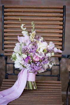 Mauve, light lilac, creme wedding