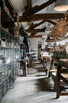 Freunde von Freunden — Mark and Sally Bailey — Store Owners, Store, Herefordshire — http://www.freundevonfreunden.com/workplaces/mark-and-sa...