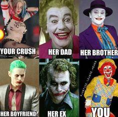 funny, joker, harley quinn