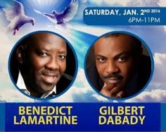 Organization of Support to the Development of the Plateau Central (OSDPC) presents: OSDPC Evangelical Concert Saturday, January 2, 2016  ..