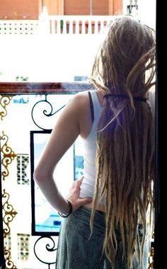 looong #dreadlocks :: Shop DreadStop.Com for Premium Leather Dread Cuff #dreadstop