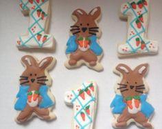 Rabbit Sugar Cookies