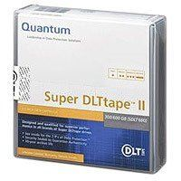 Quantum Super DLTtape II 300/600GB Tape Cartridge by Quantum. $32.24. Super DLTtape II is the most advanced media in its class. The Super DLTtape II magic recording layer is thinner and its magic particle size is smaller than the previous generation to boost tape drive performance with superior media capacity and superior reliability. The Super DLTtape II media establishes a new standard in performance and media management and is ideally suited for the most demanding and d...
