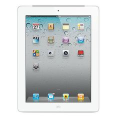 "Apple Ipad 2 16GB 9.7"" Touchscreen Wi-Fi Dual Cameras Tablet - White - MC979LLA"