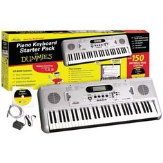 FOR DUMMIES FD05107 PIANO FOR DUMMIES 61-KEY KEYBOARD STARTER PACK FOR DUMMIES FD05107 PIANO FOR DU by FOR DUMMIES. $222.19. This product may be prohibited inbound shipment to your destination.. Brand Name: FOR DUMMIES Mfg#: FD05107. Picture may wrongfully represent. Please read title and description thoroughly.. Shipping Weight: 22.29 lbs. Please refer to SKU# ATR8095029 when you inquire.. FOR DUMMIES FD05107 PIANO FOR DUMMIES 61-KEY KEYBOARD STARTER PACK.61 FULL-SIZE TOUCH-SEN...