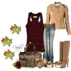 Cool fall days by cindycook10 on Polyvore