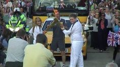 This was when I received The Olympic Flame.