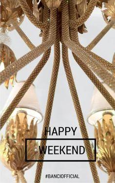 Diamo più luce al nostro weekend! We give more light to our weekend! #banciofficial #bancifirenze #lampadari #lampadarifattiamano #madeinitaly #design #architetti