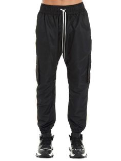 Daniel Patrick Cargo Parachute Track Pant Pants In Nero Bianco Daniel Patrick, Parachute Pants, Track, Sweatpants, Mens Fashion, Outfit, Clothes, Shopping, Style