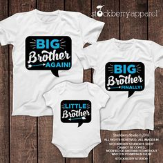 Baby T Shirt /& Baby Bottoms Outfit Baby T-Shirt /& Baby Jersey Trousers SR The Big Brother Baby Set