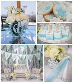 Frozen Winter Wonderland Themed Birthday Party
