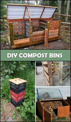 Keep Your Plants Healthy by Making Your Own Compost With These DIY Compost Bin Ideas