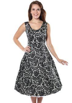 Glamorous Black Lace Charlotte -mekko https://www.misswindyshop.com  #dress #vintagestyle #lace #petticoat #pockets