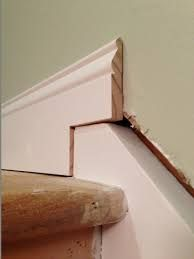 Image Result For Stair Baseboard Molding