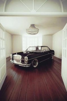 Photo: #Mercedes W114 #coupe