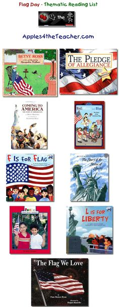 Suggested thematic reading list for Flag Day – Flag Day books for kids. Kindergarten Social Studies, Social Studies Activities, Teaching Social Studies, Student Teaching, Best Children Books, Childrens Books, Memorial Day Flag, National Symbols, Reading Lists