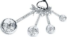 Dragonfly measuring spoons, not jewelry and not 'to die for' but adorable