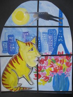 MaryMaking: Dreaming with Chagall: Kids art