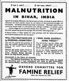 Oxfam. 3 July, 1951