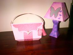 Luxury handbag and small tabletop lamp from #svgcuts