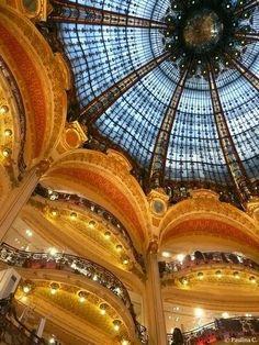 The Galleries Lafayette, Paris