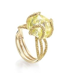 rough diamond ring by hester