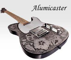 Normandy Guitars Alumicaster