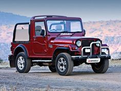 The indian version of the Jeep. Mahindra Thar