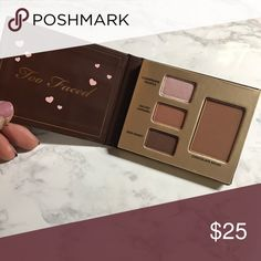 Too Faced mini chocolate palette Got this in Sephora VIB thingys. Never used. Final sale. Too Faced Makeup Eyeshadow